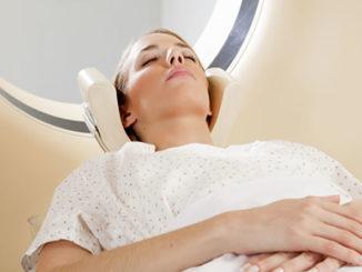 Полное сканирование женской головы