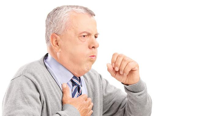 Кашель при поражении лёгочных тканей