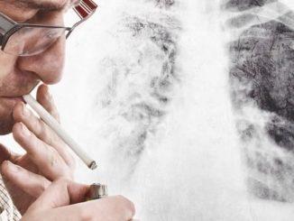 Курение и рак горла связаны.