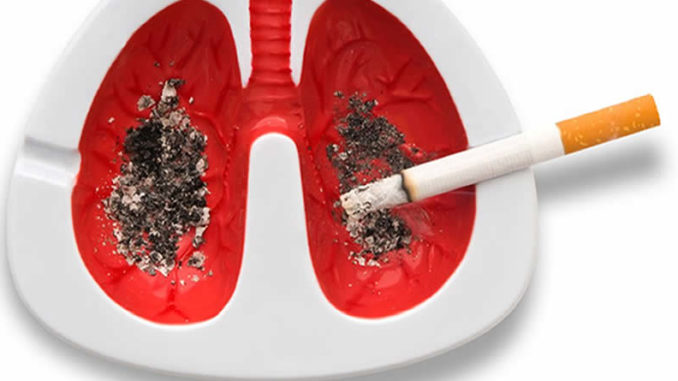 Лёгкие и курение